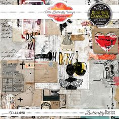 Butterfly Basics - Mixed Media Essentials (Collage)