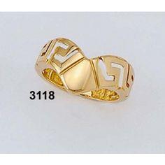 Δακτυλίδι Γκρέκα Βαρύ Κ18 Kallin Gold Rings, Rose Gold, Jewelry, Fashion, Moda, Jewlery, Jewerly, Fashion Styles, Schmuck