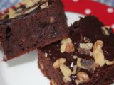 Recipe Fudge walnut brownies (w/o refined sugar) by SensitiveEconomist - Petitchef