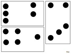 dot cards for number talks Numbers Kindergarten, Math Numbers, Math For Kids, Fun Math, Math Resources, Math Activities, Les Mathes, Key West Style, Math Coach