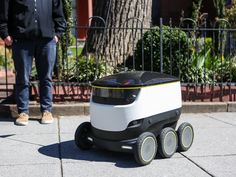 Robots Deliver Takeout Orders On The Streets Of Washington, D.C. : All Tech Considered : NPR