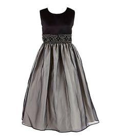 American Princess 7-12 Beaded Waistband Dress | Dillard's Mobile