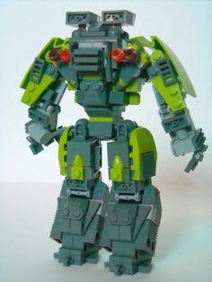 Power Miners: Sentinel Mech : A LEGO® creation by Legofreak2444 ~ : MOCpages.com