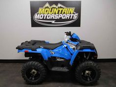 New 2017 Polaris Sportsman 450 H.O. Velocity Blue ATVs For Sale in Tennessee.