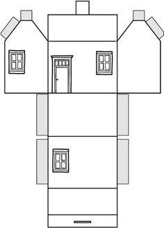 76 meilleures images du tableau gabarit d corations de no l bricolage noel et loisirs - Gabarit maison en carton ...