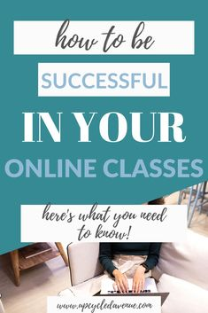 With many colleges switching to online classes for the rest of the year, there are many practices and tools that students can implement to be successful. Online Marketing Courses, Best Online Courses, Marketing Training, Sales And Marketing, Study Techniques, Good Grades, Study Tips, Blogging For Beginners, Self Development