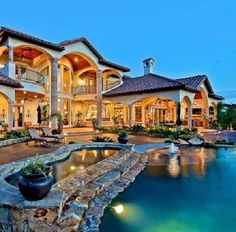 Big beautiful houses with pools dream house with pool fancy houses mansions beautiful dream house pool . Mansion Homes, Dream Mansion, Fancy Houses, Big Houses, Large Houses, Multi Million Dollar Homes, Luxury Homes Dream Houses, Dream Homes, Dream House Exterior