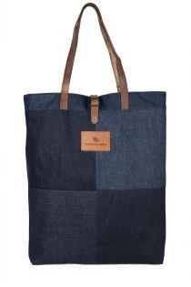 selvage denim tote bag