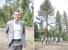 Lake Tahoe wedding in the woods from  Lauren Alisse Photography