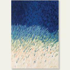 Beach Grasses - Acrylic on Canvas