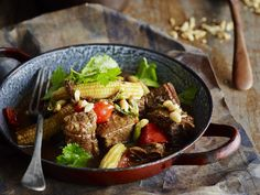 Slow cooked to tender perfection, this fragrant beef brisket is beautiful served atop steamed rice. With Asian spices and vegetables, this beautiful Vietnamese dish is great enjoyed straight out of the slow cooker.