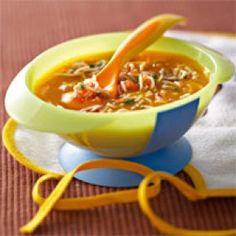 Crème de carotte aux vermicelles - Famili.fr