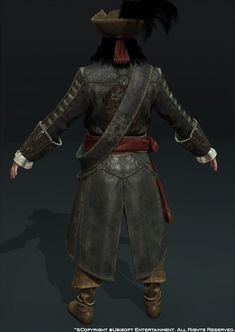 ArtStation - Assasin's Creed Black Flag, Blackbeard, Mathieu Goulet