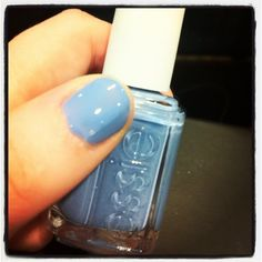 essie's Barefoot in Blue - created to help spread awareness & celebrate TOMS' One Day Without Shoes.