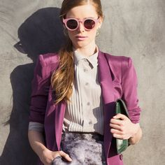 The Spring Trend Report | March marks the start of a new season — and a new wardrobe. Our style guide highlights the top Spring runway trends like blush hues, sheer details, bomber jackets, and pretty pastels. There's no denying the resurgence of crop tops (wearable if you layer over a crisp collar shirt or pair with a high-waisted skirt), and we're also zoning in on girlie details like ruffles and fringe. Shop our fresh picks from Vanessa Bruno, Rag & Bone, and more.