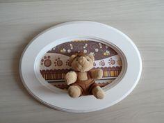 Quadro para quarto do bebê produzido por Mônica Guedes