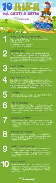 10 hier na cesty s deťmi | Najmama.sk