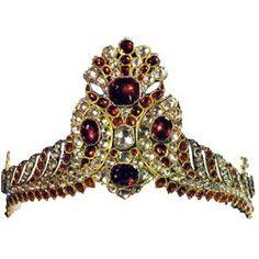 Tiaras of the Iranian Crown Jewels - Mineral