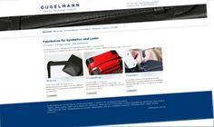 Die Firma Gugelmann GmbH entwickelt und fabriziert hochwertige Produkte aus Textil und Leder. visions.ch realisierte für die Gugelman GmbH das neue Corporate Design und die CMS-Integration. vision.ch war auch für das Konzept und die Gestaltung zuständig.  www.gugelmann-gmbh.ch/