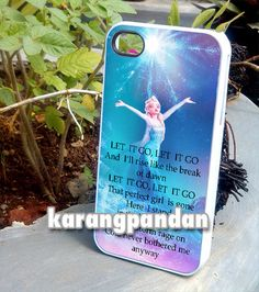 elsa frozen quote  iPhone 4 4s 5 5c 5s Case by kerangpandan, $14.00