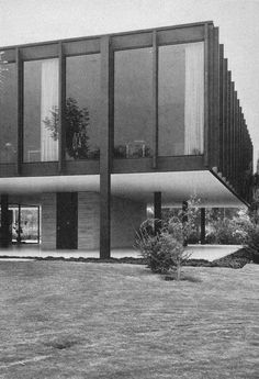 Bacardi administration building by Ludwig Mies van der Rohe.