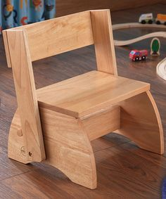 Loving this Natural Large Flip Stool on #zulily! #zulilyfinds