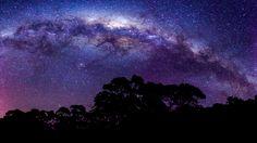 The Milky Way as shot in Tasmania, Australia.