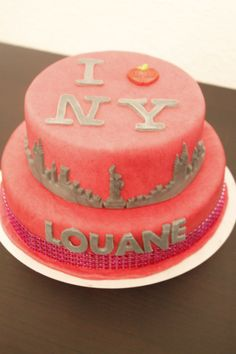 Cake design New York  #iloveny