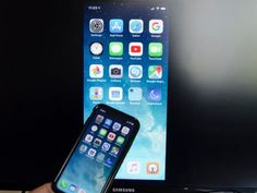 There are two ways to broadcast your iPhone's screen onto a television. Here's how to connect an iPhone to your TV through an AV cable or Apple TV. Iphone To Tv, Wireless N Router, Lg Tvs, Internet Tv, Apple News, Smart Tv, Apple Tv, Mobile App, Connection