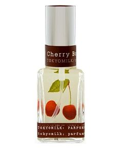 Cherry Bomb is a gourmand fragrance by the house of Tokyo Milk Parfumarie Curiosite. Its base is made of wild rose and chocolate, accompanied with vetiver and osmanthus.