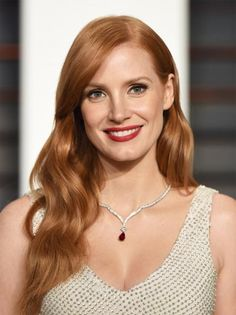 Jessica Chastain's Changing Looks - 2015 - from InStyle.com