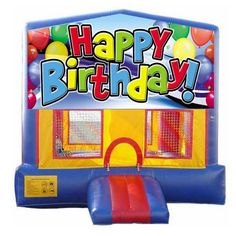 """We have three different shaped units that can display the """"Happy Birthday"""" banner!"""