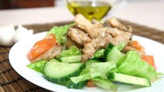 6 Diet Salads Instead Of Dinner. Eat Even After 10 Pm And You Will Lose Weight Again - The Real Healthy Thing Tuna Salad Ingredients, Small Cabbage, Bitter Greens, Low Fat Yogurt, Cabbage Salad, Dinner Salads, Salad Bowls, Buffet, Dinner Recipes