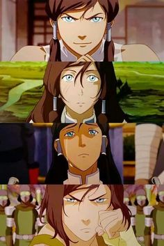 The Legend of Korra #Korra  Cocky, Scared, Broken, #STRONG.