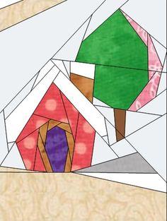 Gingerbread Village - Block #8 | Craftsy