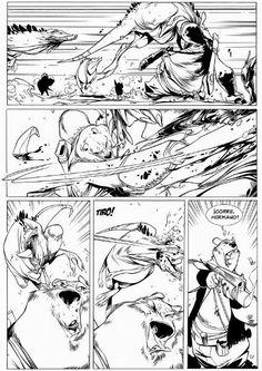 "DENTRO DEL LABERINTO: ""SOLO.CRÓNICAS SALVAJES"" de Raúl Moreno y Oscar Martín. Comic Book Layout, Comic Book Pages, Comic Book Artists, Comic Artist, Comic Books Art, Black And White Comics, Black White Art, Comic Book Template, Shadow Drawing"