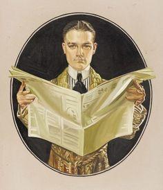 J.C. Leyendecker조지프 크리스천 레이엔데커 1874.3.23 - 1951.7.25 20세기 초 미국의 저명한 삽화가 ...