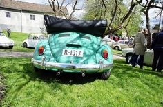 Beetle Bug, Cute Cars, Norway, Convertible, Volkswagen, Baby Strollers, Pastel, It Is Finished, Green