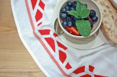 #DIY THE RALEIGH TEA TOWEL | For the Makers: For the Makers