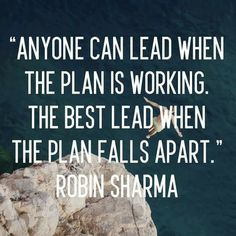 There are moments that define your leadership. Managing a crisis situation brings out the best in you!