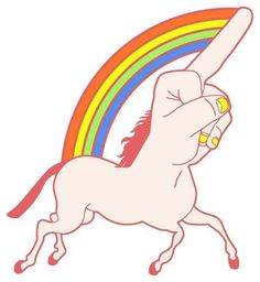 F**kunicorn This is almost like an optical illusion of awesome.  I can't stop staring at it.