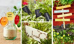 Plant Tags and Garden Signs