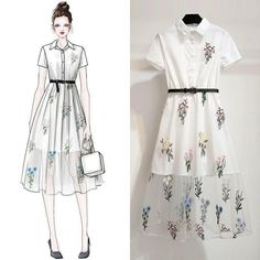 Trendy Fashion Sketches Girl Inspiration Ideas Source by dresses girl White Fashion, Look Fashion, Fashion Art, Trendy Fashion, Korean Fashion, Girl Fashion, Fashion Ideas, Fashion 2017, Fashion Drawing Dresses
