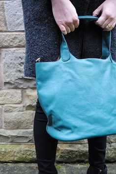 Green 2-in-1 bag