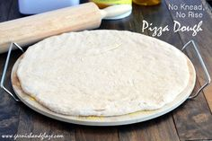"""You're probably saying """"No way! This is too good to be true!"""" Well you better believe it! With this pizza dough you'll be making pizza all-the-time (I make it at least once a month). It's delicious, fast, easy, slightly sweet, you can sub half the flour for whole wheat flour (I always do unless for...Read More »"""