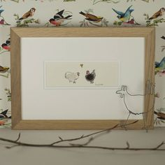 Chickens In Love Picture from notonthehighstreet.com