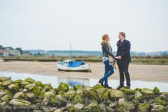 Engagement Shoot at Burnham Overy Staithe, Norfolk. www.jameskphoto.co.uk