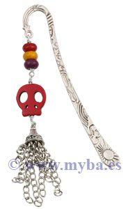 Marcapáginas Halloween.Componentes a la venta online en www.manualidadesybellasartes.es