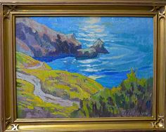 Coastal Color by Mark Fehlman Oil ~ 12 x 16