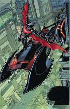Batman Beyond by Martin Ansin